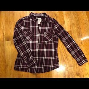 Garage flannel shirt